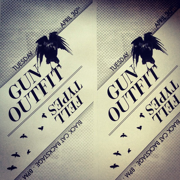 Gun Outfit Black Cat Flyer