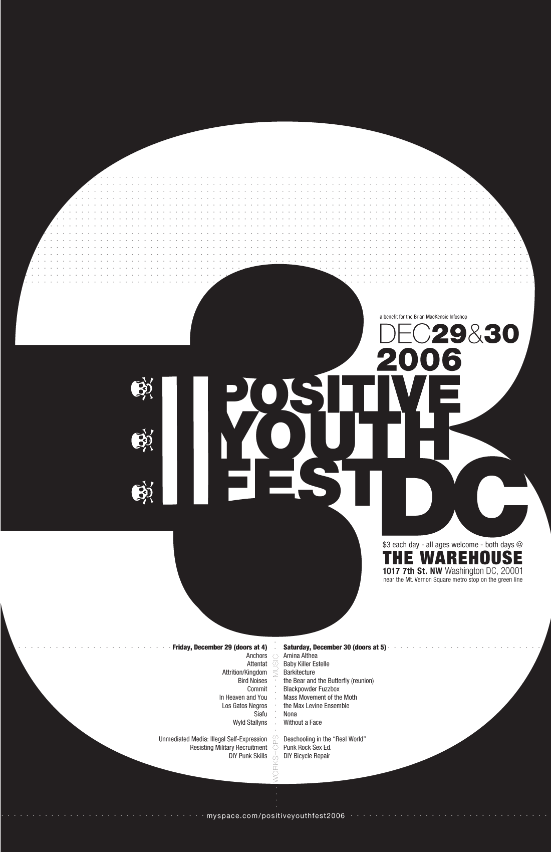Positive Youth Fest 3 Poster