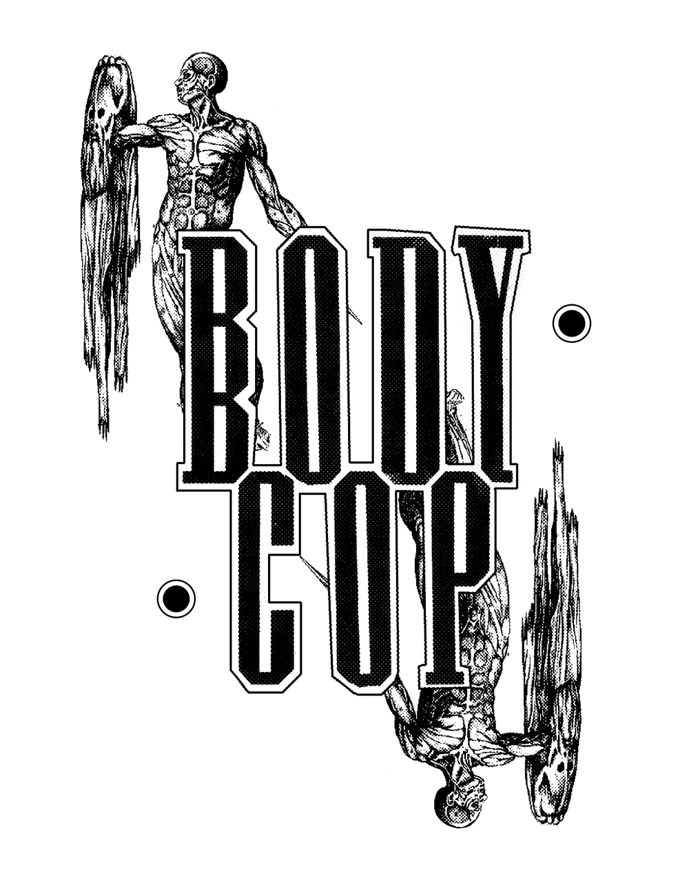 Body Cop tshirt Artwork