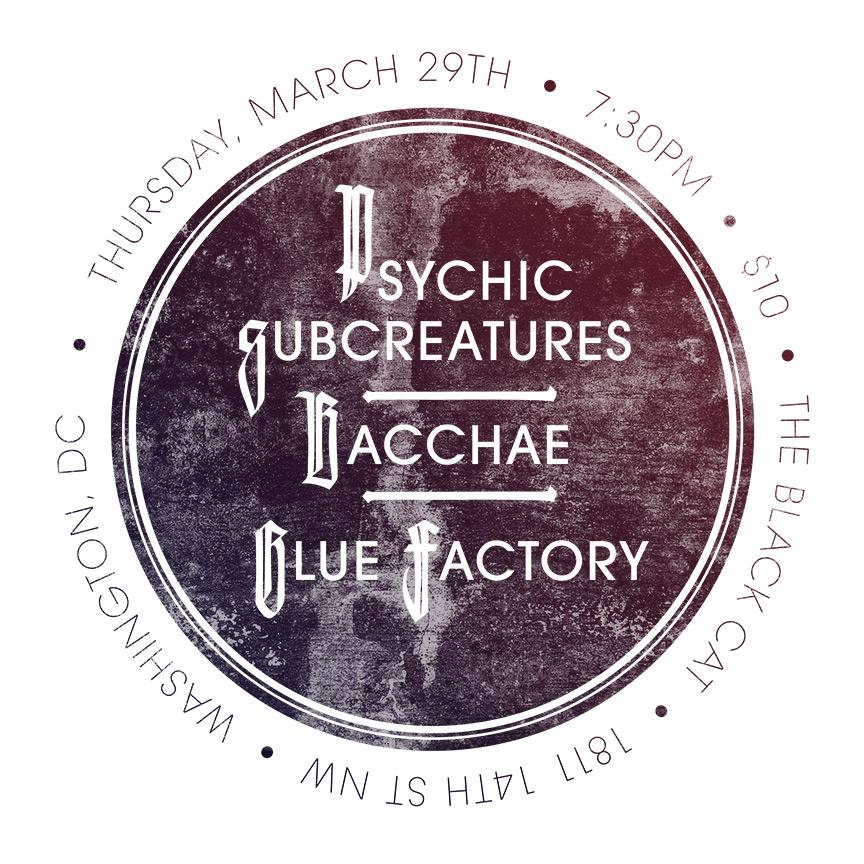 Psychic Subcreatures Flyer
