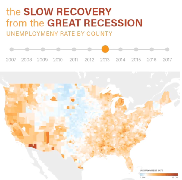 The Slow Recovery from the Great Recession
