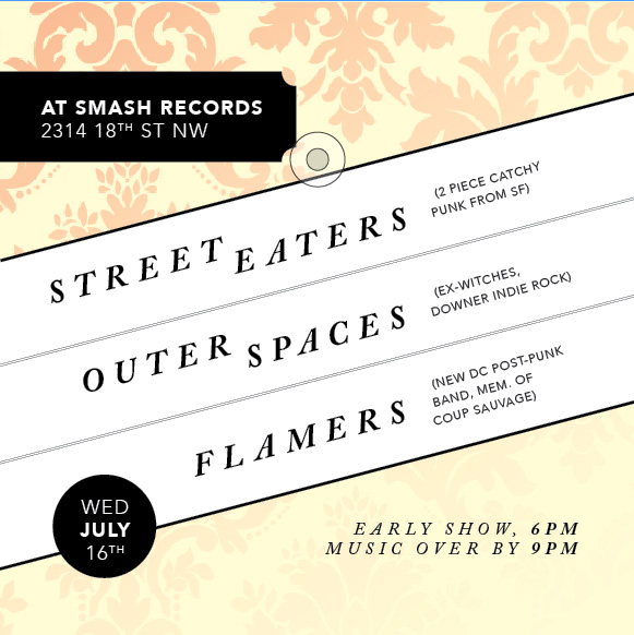 Street Eaters Smash flyer