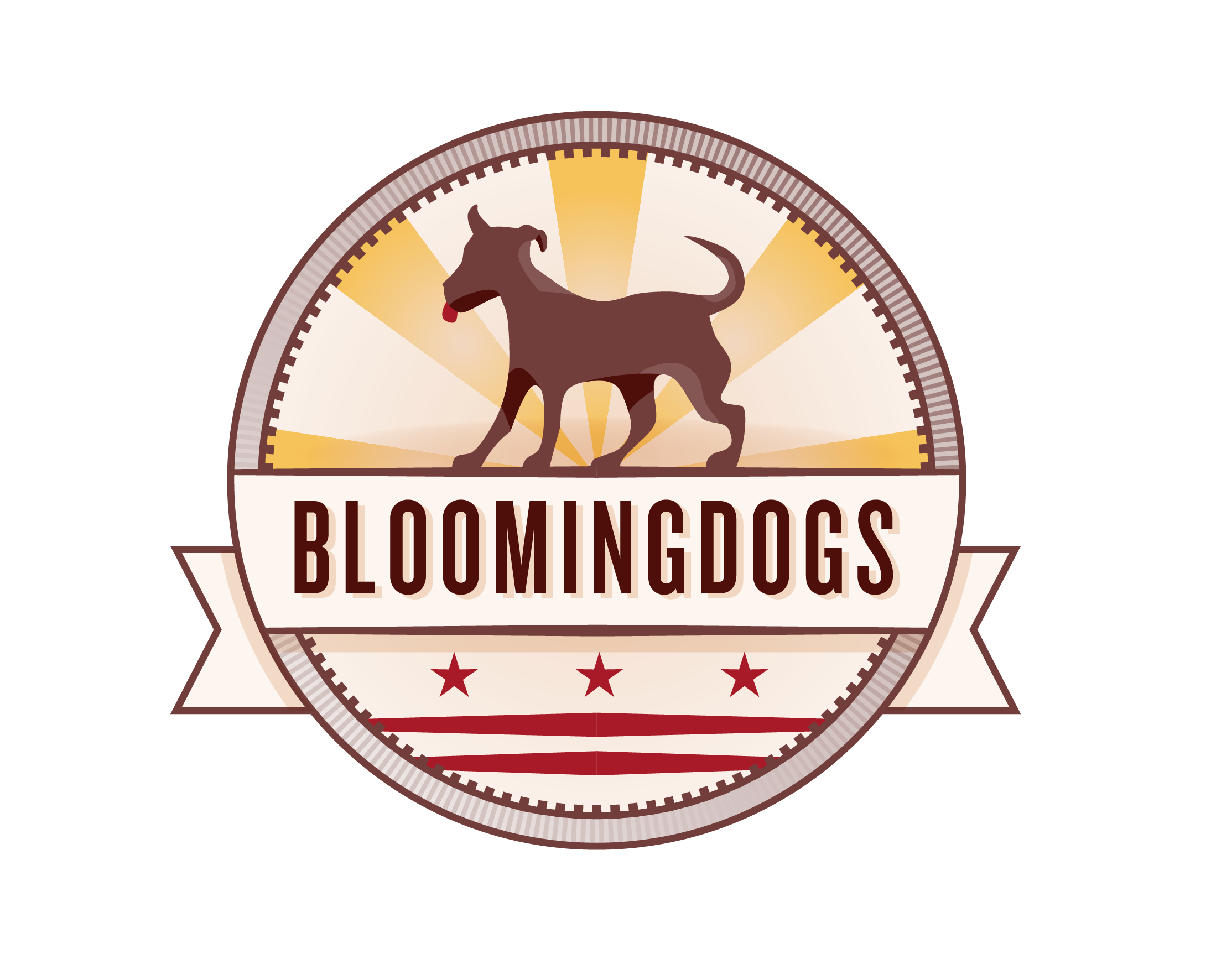 Bloomingdogs logo