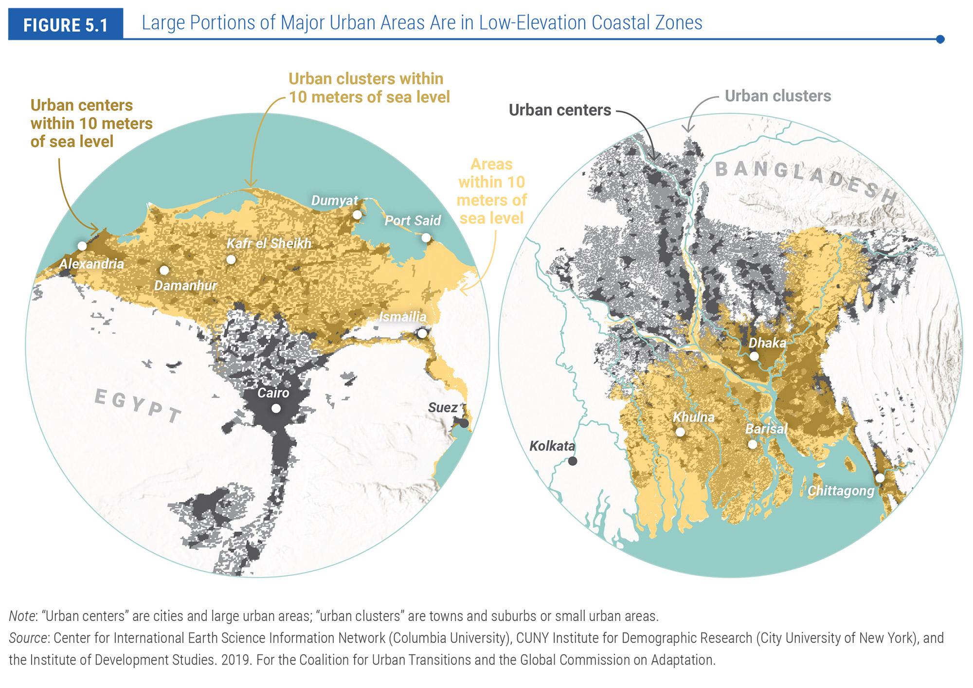 GCA Coastling Flooding map